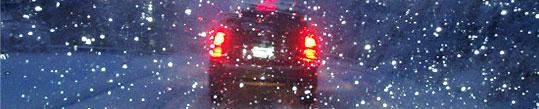 Auto vadīšana ziemā